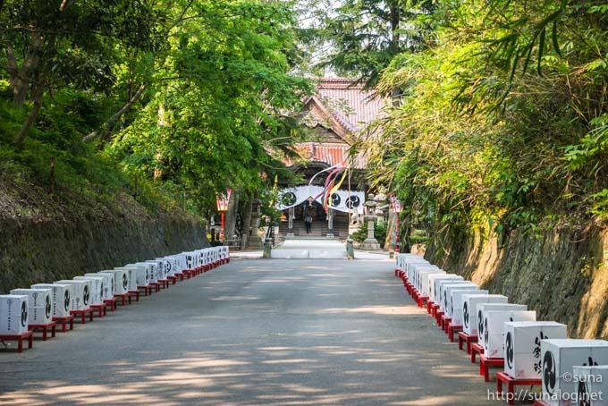 下日枝神社の参道