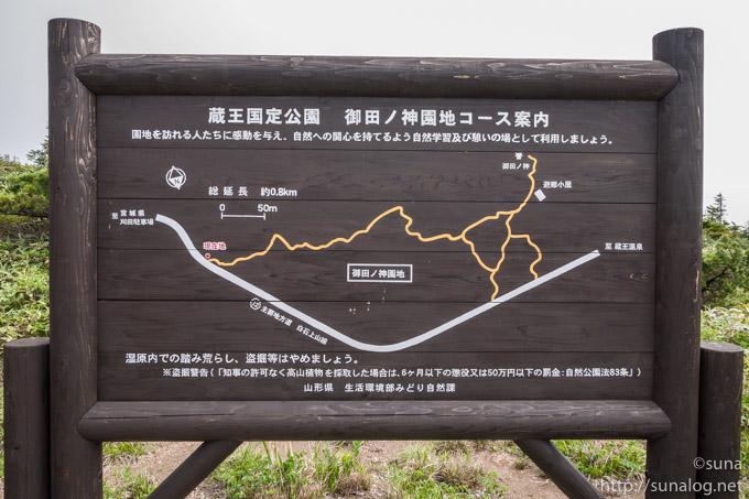 御田ノ神園地地図