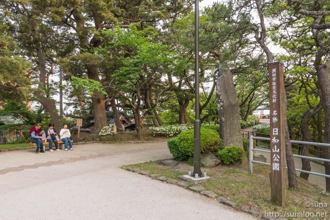 日和山公園の展望台