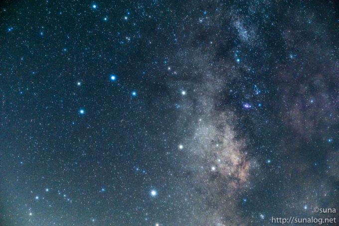 GX7で撮影した星野写真