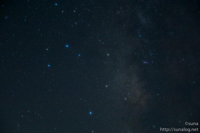 現像前の星野写真