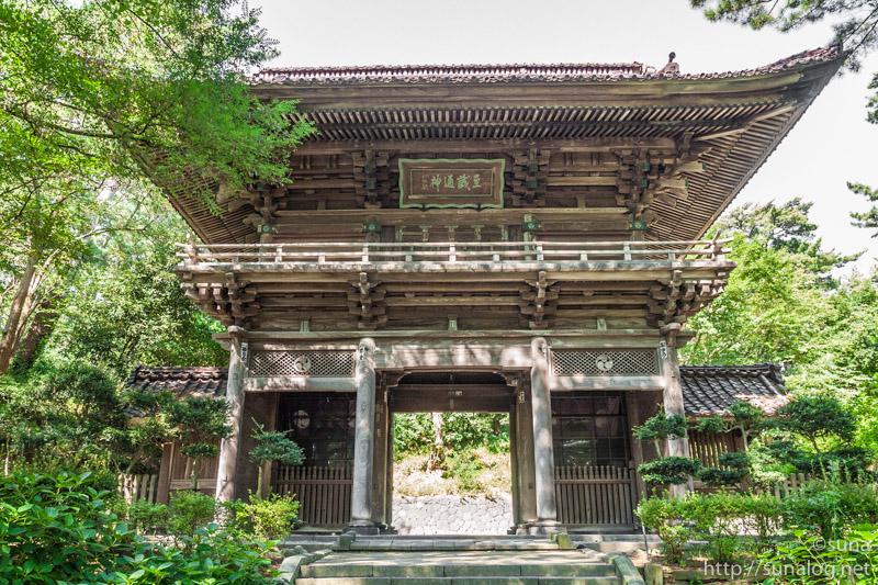下日枝神社の随神門