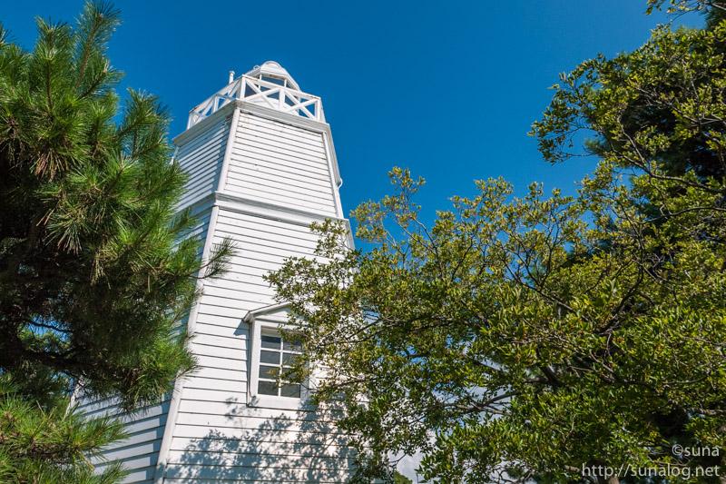 日本最古級の木造六角灯台
