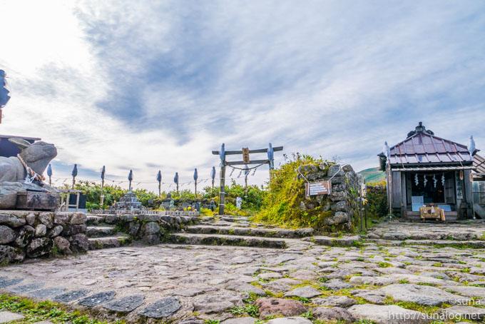 月山中之宮の御田原神社