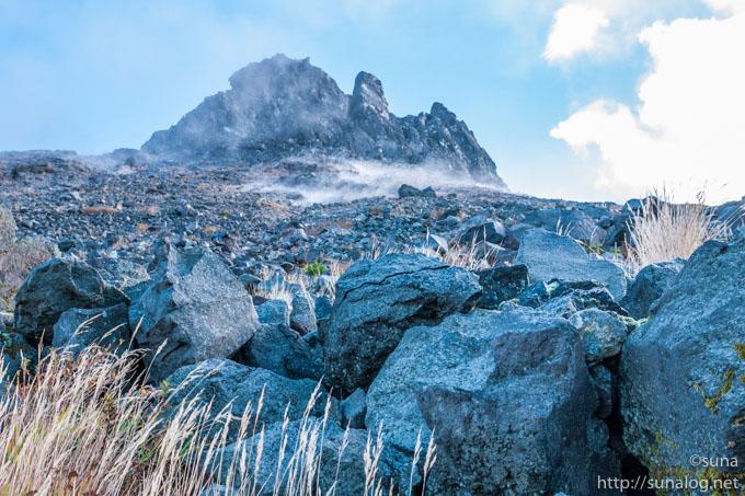 茶臼岳の山頂