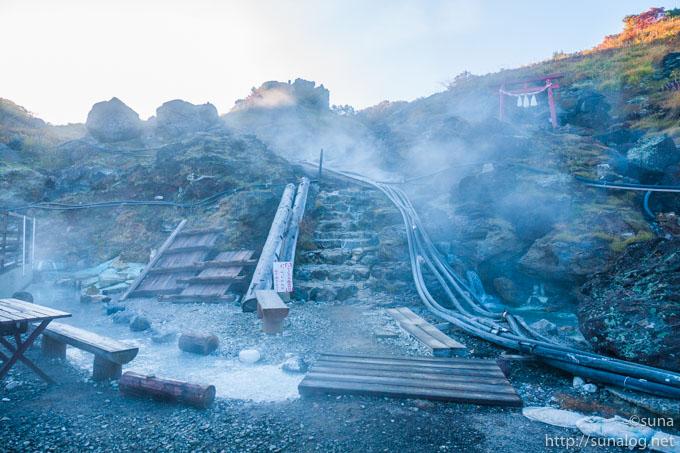須川高原温泉登山口