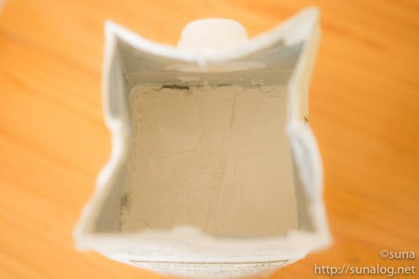 ヨーグルトになったパック豆乳