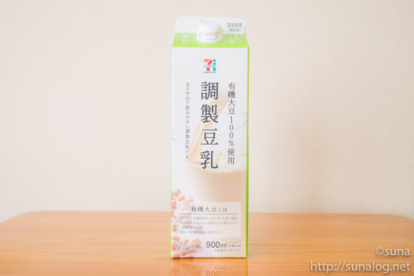 セブンプレミアム調製豆乳