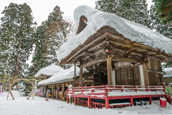熊野大社の境内
