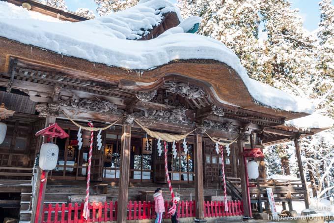 熊野大社 初詣