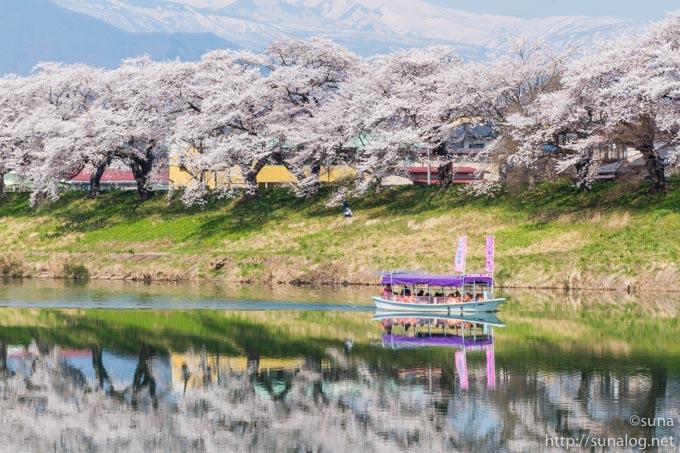 屋形船と一目千本桜