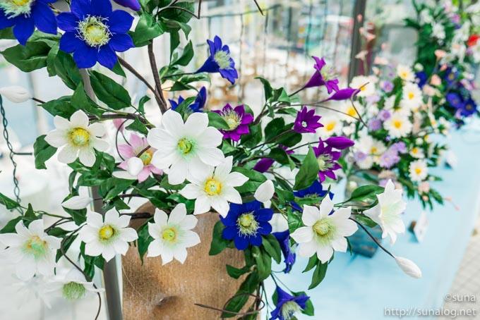 パンの花 クレマチス