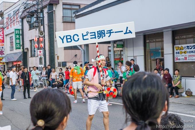 YBC ピヨ卵チーム 笑福亭笑助さん