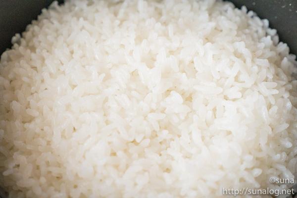 ストウブで炊いたお米
