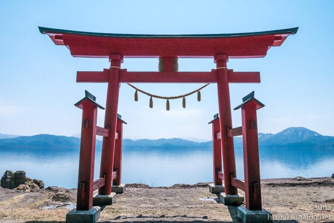御座石神社の鳥居