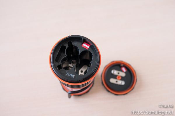 単3電池4個使用