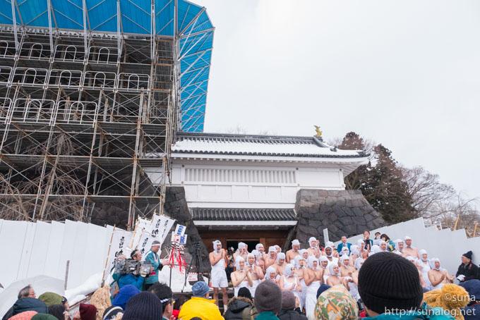 上山城と加勢鳥参加者