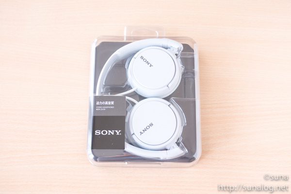 SONY MDR-ZX110 パッケージ