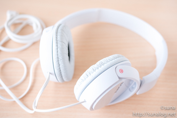 SONY MDR-ZX110 細部