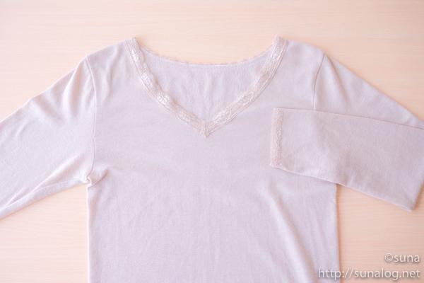 薄手のババシャツ