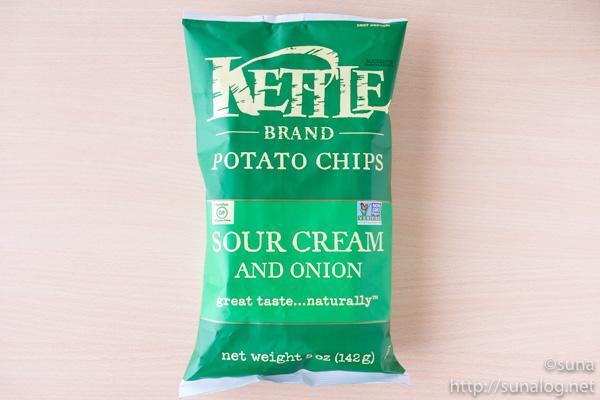 Kettke Foods ポテトチップス サワークリーム&オニオン