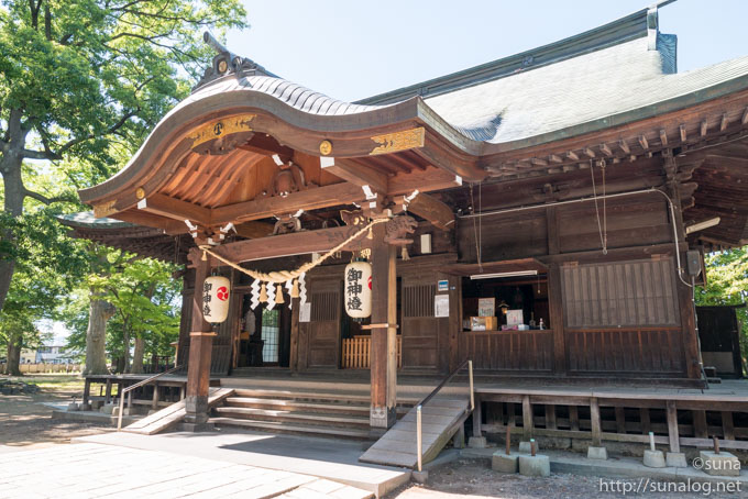 六椹八幡宮の社殿